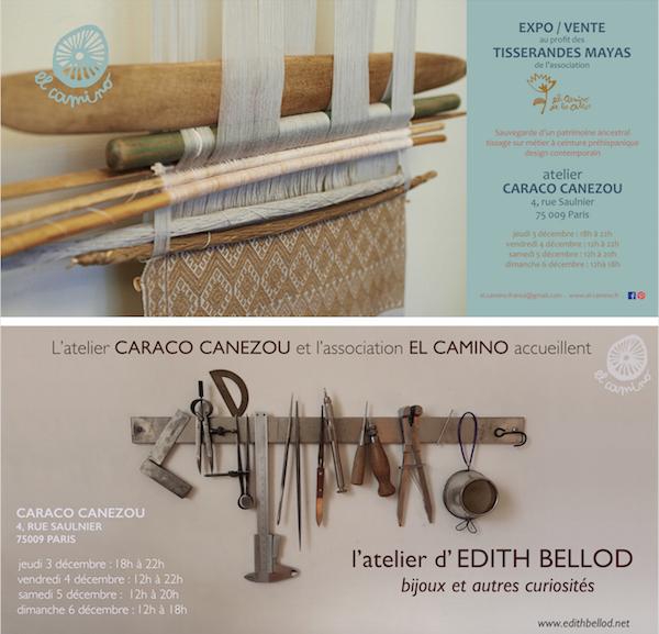 Exposition-vente «El Camino de los altos» à l'Atelier Caraco.